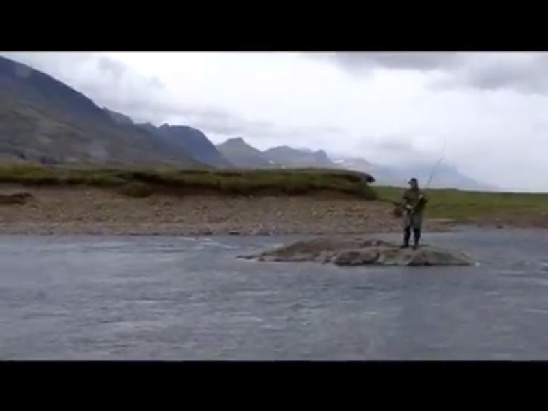 Pesca al Salmone a Breiðdalsa (Islanda)